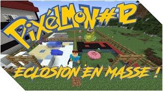 [Minecraft] Pixelmon FR - Ep12 - ÉCLOSION EN MASSE !