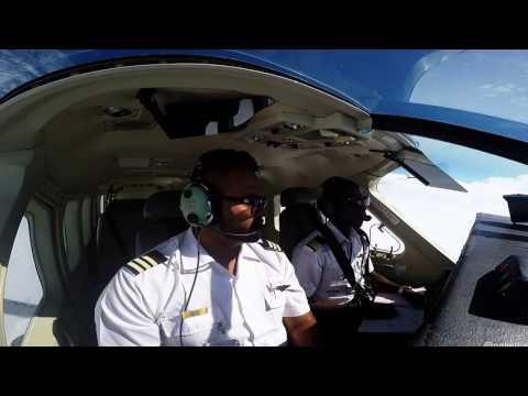 Cessna Caravan Flight into the bush! - Zambia