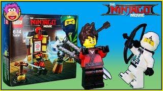 Lego Ninjago Movie: SPINJITZU TRAINING and NINJA BATTLES !!! Ninjago Movie Blind Bag Opening -70606