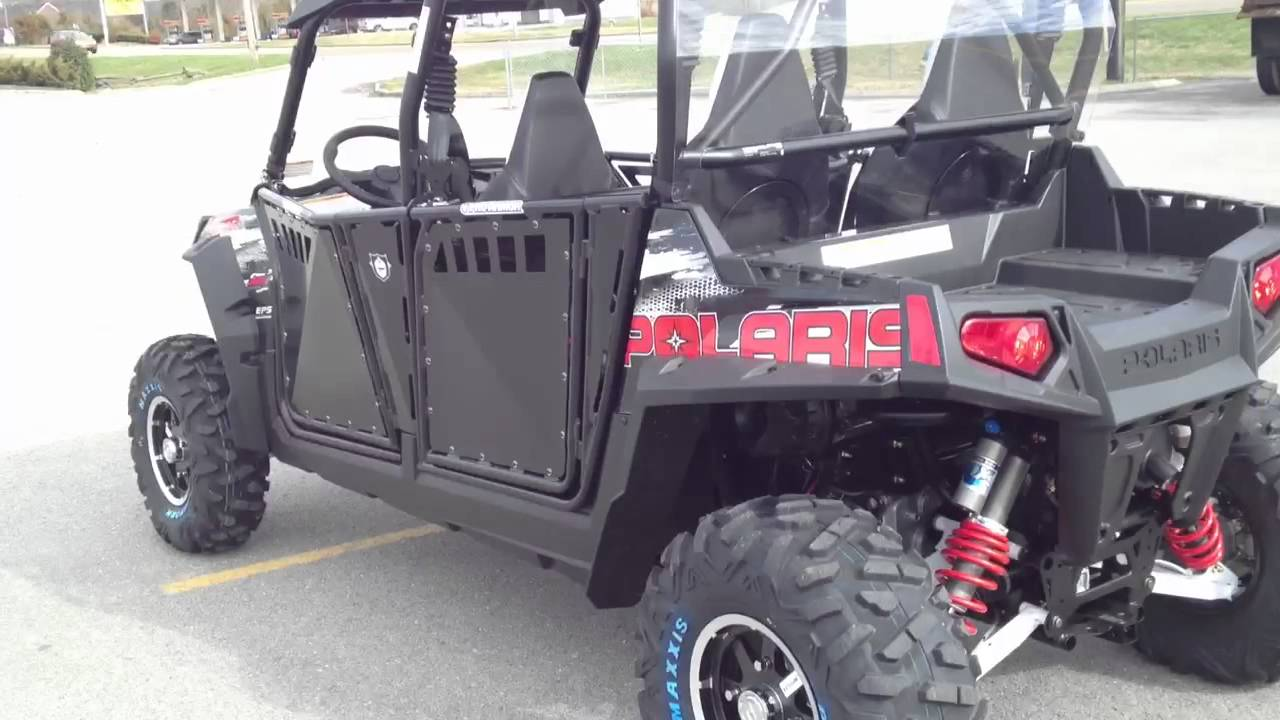 2012 RANGER RZR 4 800 EPS BLK/WHT/Red LE Robby Gordon Edition with Pro Armor Doors - YouTube & 2012 RANGER RZR 4 800 EPS BLK/WHT/Red LE Robby Gordon Edition with ...