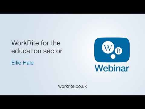 WorkRite E-learning for the Education Sector