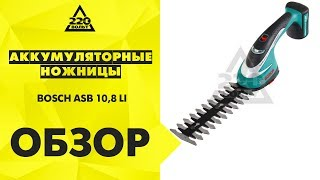 Обзор Аккумуляторные ножницы BOSCH ASB 10,8 LI