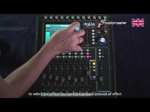 Introducing the all new Studiomaster Digilive16