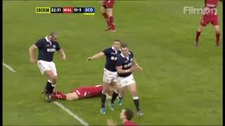 RUGBY  Red cards  (TOP 5)