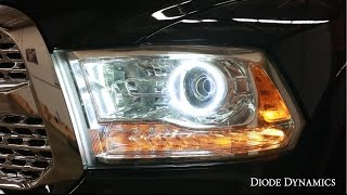 Video guide to install a Diode Dynamics angel eye kit for the Ram 1...