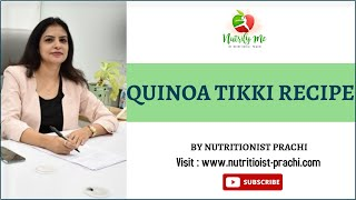 Quinoa Tikki Recipe   क्विनोआ टिक्की बनाने की विधि   How to Make Healthy & Crispy Quinoa Patties