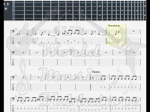 Incubus   Still Not A Player Incubus Feat BASS GUITAR TAB