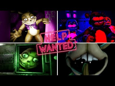 Five Nights At Freddy's VR: Help Wanted ALL ENDINGS