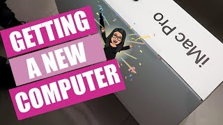 GETTING A NEW COMPUTER [iMac PRO] | 2019 Vlog #4