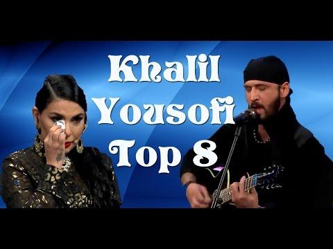 Afghan star, Top 8, Khalil Yousofi, ستارهٔ افغان ، ۸ بهترین، خلیل یوسفی