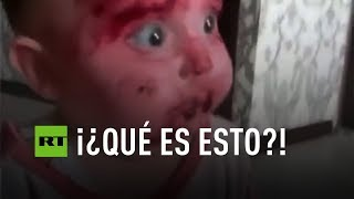 VIRAL: Dos niños se miran con estupor tras comer remolacha