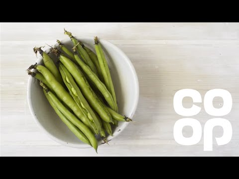 How To Double Pod Broad Beans