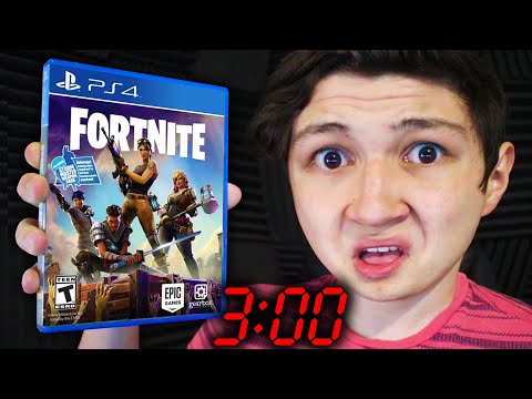 NOOB JUEGA FORTNITE A LAS 3:00 AM... FORTNITE: BATTLE ROYALE