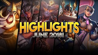Vainglory Highlights / Funny Moments - June 2018