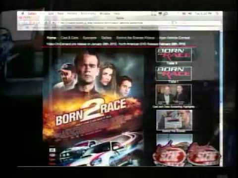 born to race movie speed scene tv live interview part 2. Black Bedroom Furniture Sets. Home Design Ideas