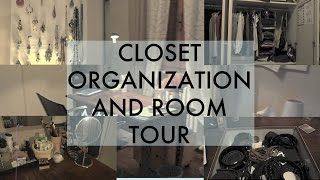 closet organization and room tour Thumbnail