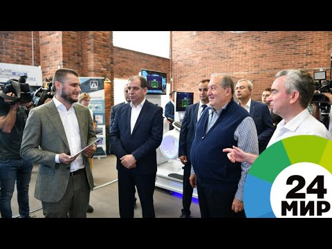 Президент Армении посетил технопарк Минска