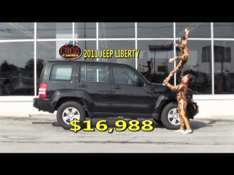 jim cogdill dodge cirque circus of savings youtube. Black Bedroom Furniture Sets. Home Design Ideas