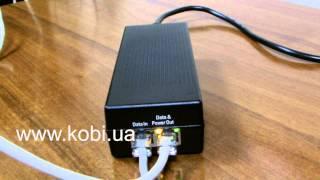 видео Что такое PoE-адаптер. Power over Ethernet