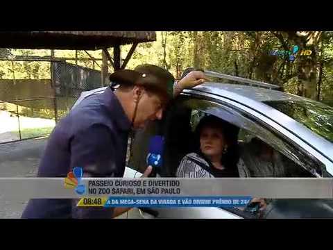 Se Liga Brasil: Edie Polo visita o Zoo Safari de São Paulo