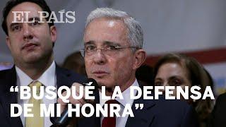 Alvaro Uribe se defiende frente a la investigación por presunto fraude procesal y sobornos