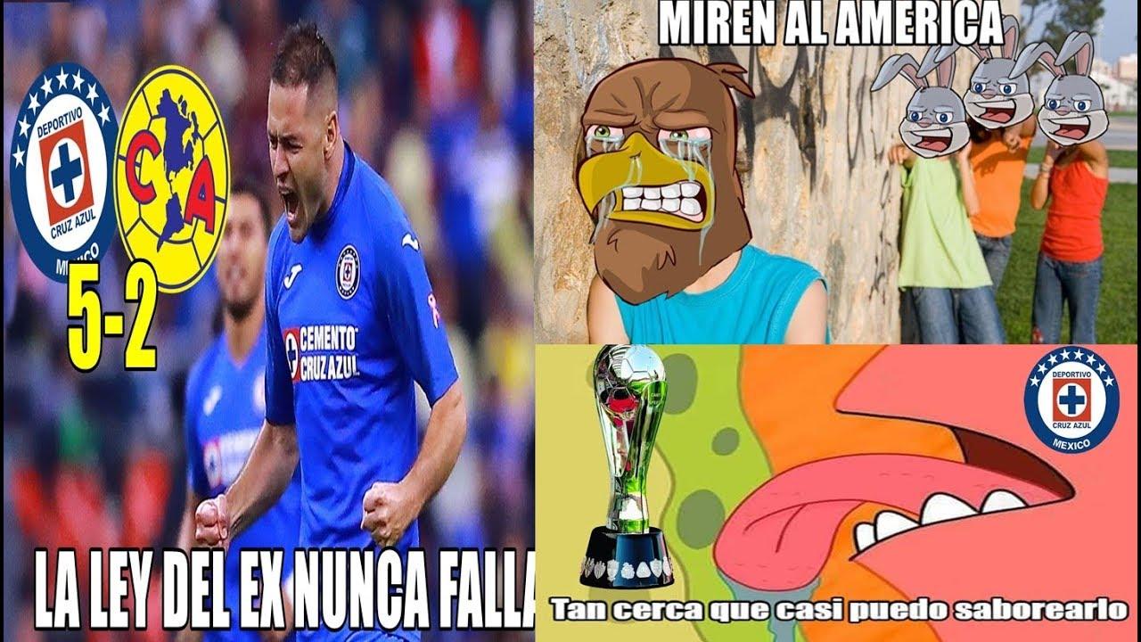MEMES CRUZ AZUL VS AMÉRICA 5-2 | AMÉRICA GOLEADO EN EL ...