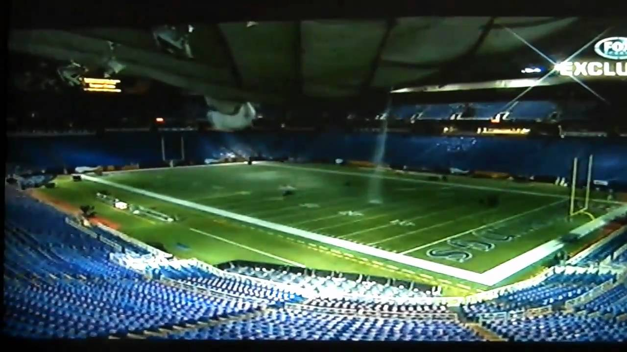 Vikings' Metrodome roof collapses for the fifth time ...