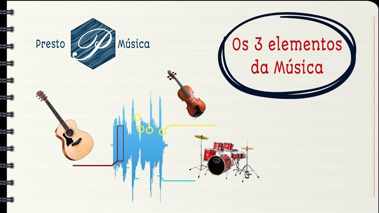 Os 3 elementos da música - Melodia, Harmonia e Ritmo - YouTube
