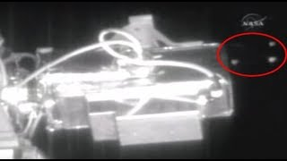 Several UFOS pass International Space Station. Best in 1080p. thumbnail