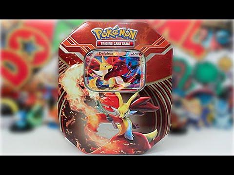 Pokemon XY 2014 Kalos Power Tin Delphox-EX