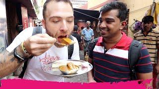 TRADITIONAL Bengali INDIAN STREET FOOD Breakfast Tour of Decker Lane | Kolkata, India