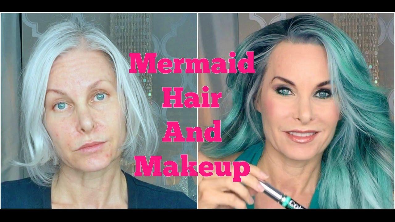 Mermaid Hair And Makeup Youtube