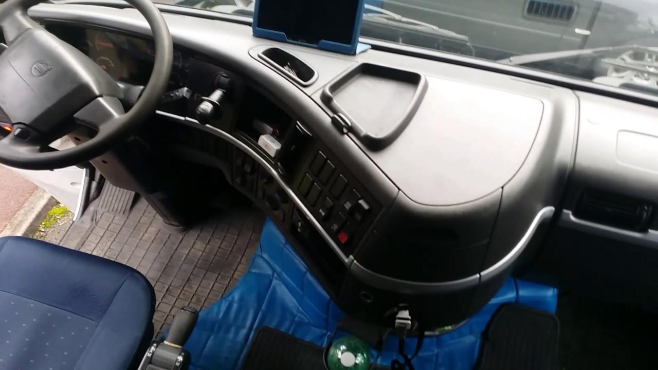 Interior Volvo FH 480 Globetrotter XL - YouTube