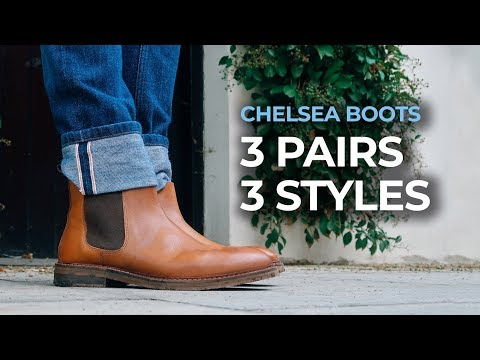 How To Wear Chelsea Boots | 3 Key Styles