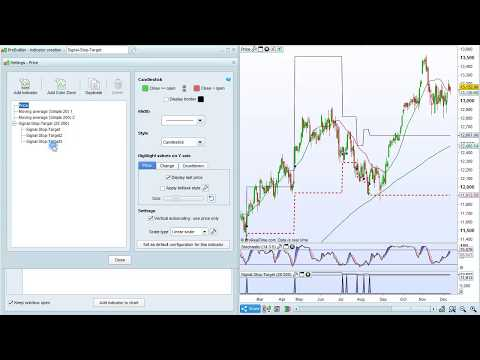 Example program 2 - Trading system with target and stop