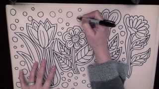 ASMR: Doodle Sampler 10,000 Subscriber Celebration (ASMR Tingle Triggers)