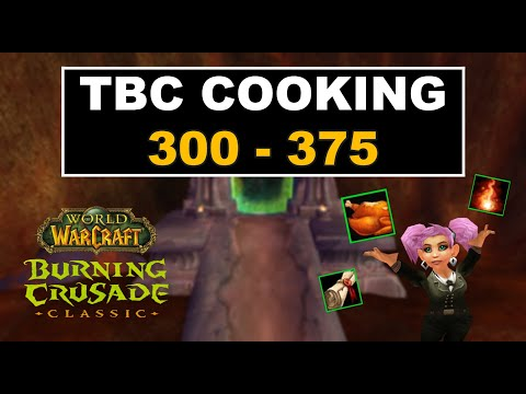 TBC Cooking Profession Guide + master cookbook