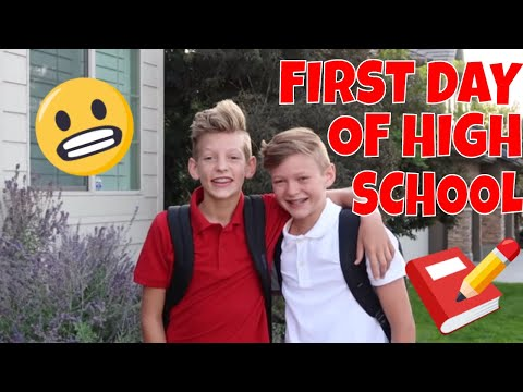 MY FIRST DAY OF HIGHSCHOOL!