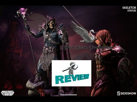 Skeletor exclusive sideshow Masters of the Universe statue review
