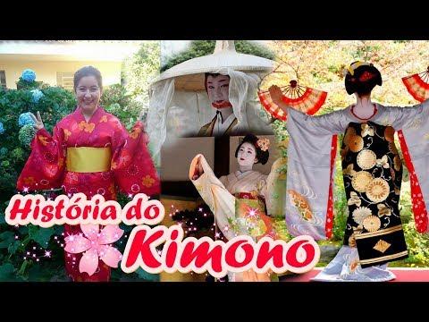 História do Kimono - Indumentária Japonesa