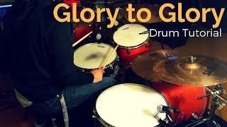 Bethel Music - Glory to Glory// Drum Tutorial// Rezound Tutorials