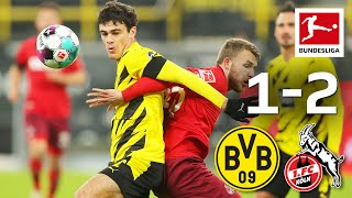 First Victory in 29 years for Köln vs BVB! | Dortmund - Köln 1-2 | Highlights | MD 9 – Bundesliga