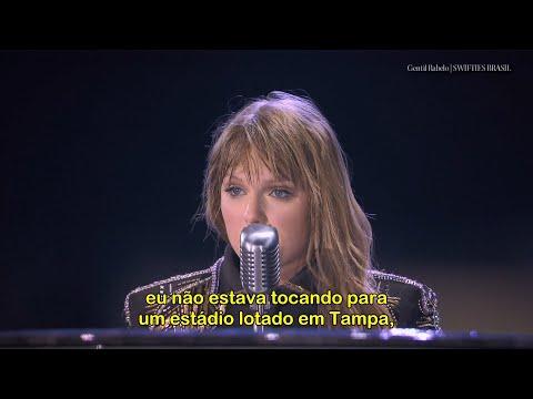Taylor Swift Discurso Assédio + Clean Legendado Live Documentário Miss Americana NETFLIX