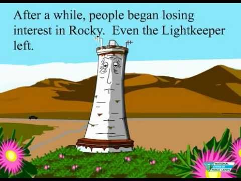 The Story of Rocky - The Lonely Lighthouse