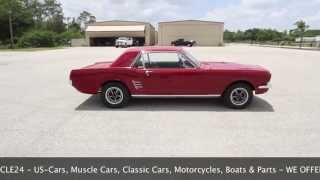 1966 Ford Mustang Coupé 289 Performance for Sale by myVEHICLE24