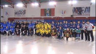 Открытие 7-го сезона Ночной хоккейной лиги