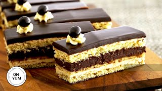 Opera Torte Recipe - OH YUM with Anna Olson