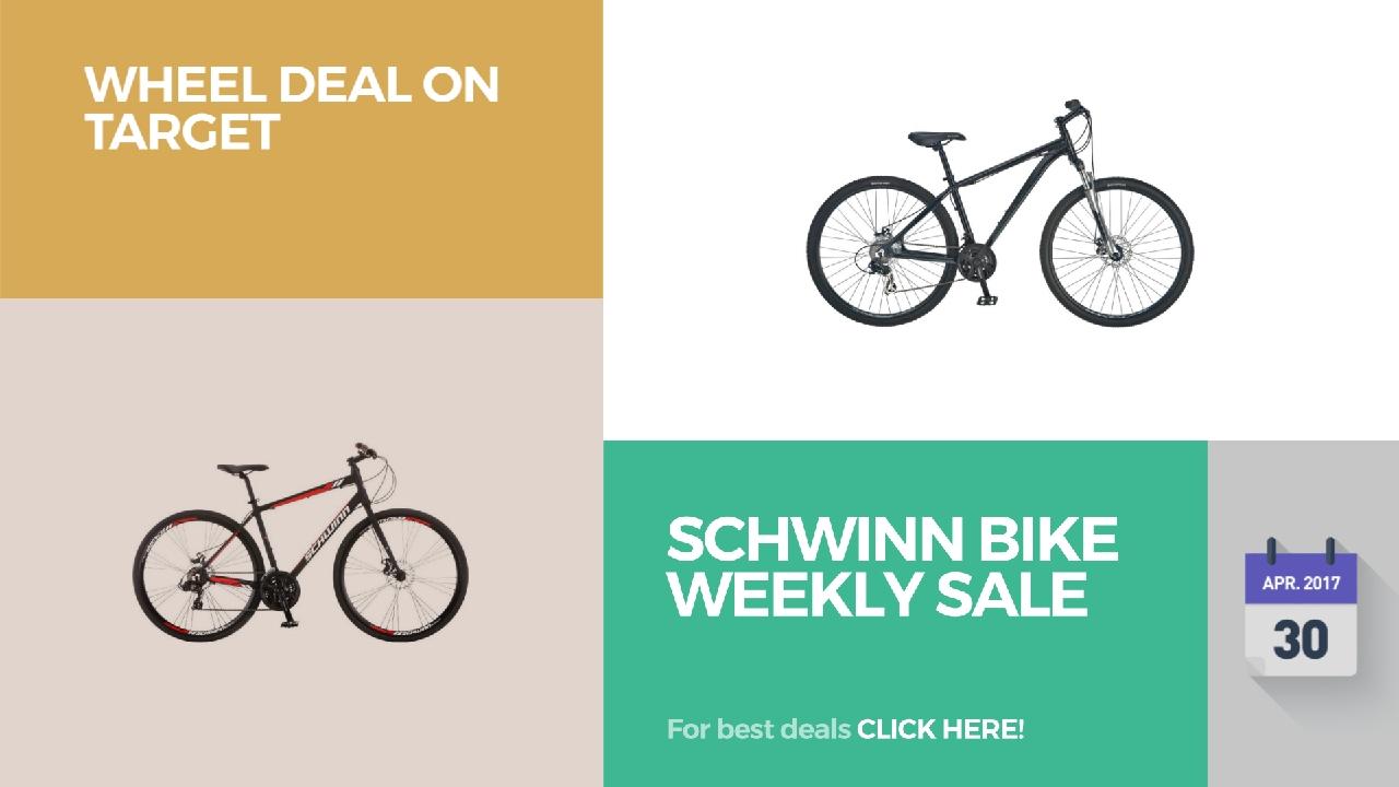 Schwinn Bike Weekly Sale Wheel Deal On Target - YouTube