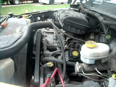 2001 dodge ram 1500 2wd engine youtube for Dodge ram 1500 motor