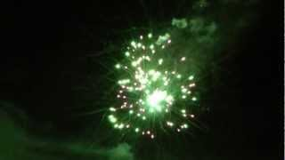 Geburtstagsfeuerwerk